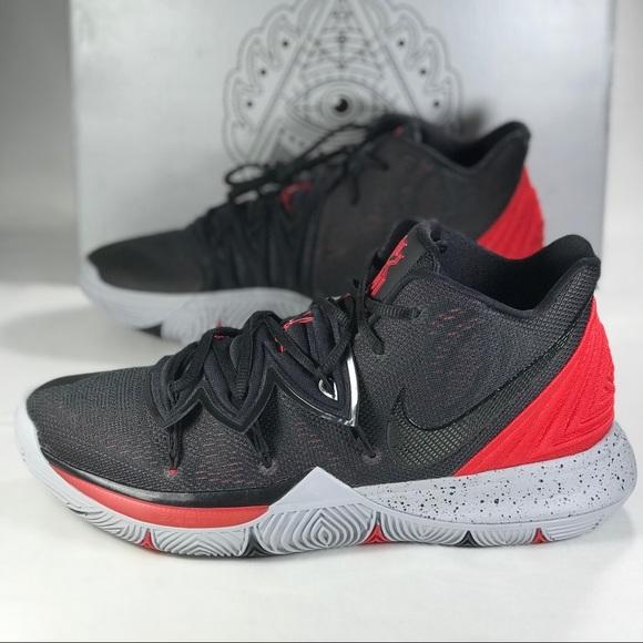 Nike Shoes | Nike Kyrie 5 Bred Black